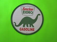 tin metal home garage repair shop man cave decor service station fuel sinclair