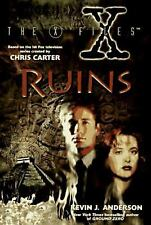 KEVIN J. ANDERSON THE RUINS AN X-FILES BOOK SIGNED