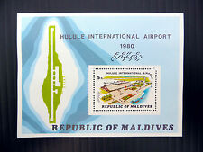 MALDIVES 1980 Airport M/Sheet Unissued Few Only Exist NEW LOWER PRICE FP5496