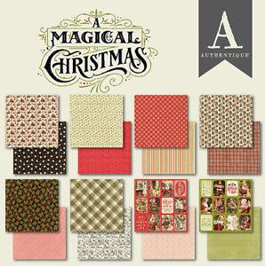 24 FOGLI 15X15 CM A Magical Christmas Natale per SCRAPBOOKING PAPER PAD