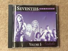 Very Rare Complete Seventies Volume 5 (Australia) CD From EMI Australasia