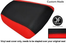 RED AND BLACK VINYL CUSTOM FOR KAWASAKI NINJA ZX6R 636 A1P 98-03 REAR SEAT COVER