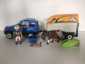Playmobil 5223 Country Pkw mit Pferdeanhänger