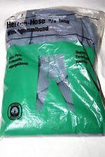Vaudeha Original 50er Jahre 3/4 lange Unterhose lang Baumwolle Gr. 7 Grau Retro
