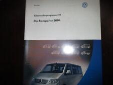VW Selbststudienprogramm 310 Transporter Bus T5 WHB Handbuch Service Wissen
