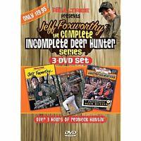 Jeff Foxworthy The Complete Incomplete Deer Hunter Series 3 DVD set