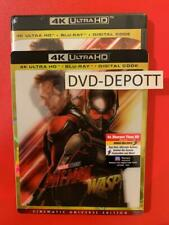 ANT-MAN AND THE WASP 4K UltraHD + Blu-Ray + Digital & Lenticular Slipcover New!