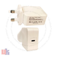 "Type C USB-C AC Power Adapter Charger For Apple Macbook 12"" A1540 MJ262LL/A UKED"
