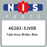46282-3JV0B Nissan Tube assy-brake, rear 462823JV0B, New Genuine OEM Part