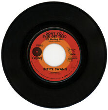 """BETTYE SWANN  """"DON'T YOU EVER GET TIRED (OF HURTING ME)""""  DEEP SOUL   LISTEN!"""