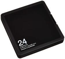 ELECOM memory card case SD case plastic SD12 sheet + microSD12 Holds Japan