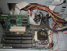 PC Chips Motherboard M525 120Mhz Intel Pentium AT 4 ISA Slots CNC DOS