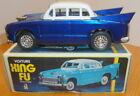 SEDAN CAR 1970s Tin-Plate Xing Fu MF083 Friction Car China Vintage - Boxed