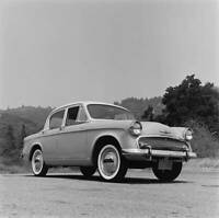 Hillman Minx Model OLD CAR ROAD TEST PHOTO in 1956 1