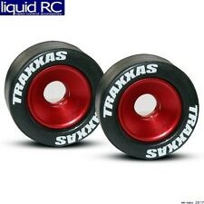 Traxxas 5186 Mounted Wheelie Bar Red Tires/Wheels (2)
