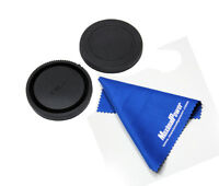 Refuelergy For SONY E-Mount Rear & Body Lens Caps+FREE cleaning cloth