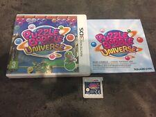 NINTENDO 3DS : puzzle bobble universe