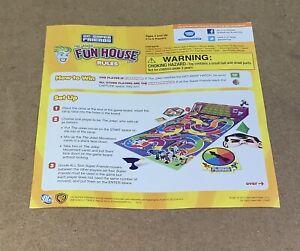 RARE DC Super Friends The Joker FunHouse Game Batman Superman Game Parts Pieces