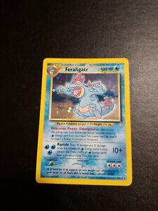Feraligatr - 5/111 - Holo NM Neo Genesis Pokemon