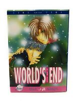 WORLD'S END YAOI BL Manga EIKI Eiki June Manga Anime Drama Romance