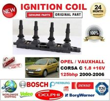 FOR OPEL VAUXHALL CORSA C 1.8 +16V 125bhp 2000-2006 IGNITION COIL 5PIN CONNECTOR