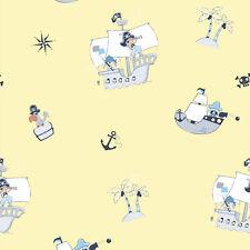 Kids Wallpaper cloud sky Rasch Textil Bimbaloo blue white 330235 2,35£//1qm
