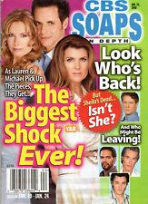 CBS Soaps In Depth Jan. 24 2006 Kimberlin Brown Tracey E. Bregman Gina Tognoni