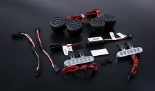 Lamp kit with Alloy CNC bracket Silver for Losi 5ive T