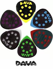 Dava Control Grip Tips Guitar Picks 6/Bag (D6024)