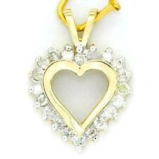 SI1 Round heart Love Fine Diamond Necklaces & Pendants