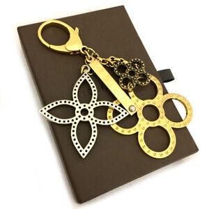 Louis Vuitton Monogram Bijoux Sac Tabage Key Ring Charm /A0196