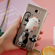 Finger Pinch 3D Silicone Squishy Cat Case for Samsung Galaxy J7 Prime/On7 2016