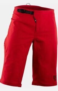 RaceFace Ruxton Men's Shorts - Rouge Red XXL