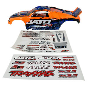 Traxxas Jato 3.3 - Orange BodyShell - Body Shell - Decals - 5511 - Brand New