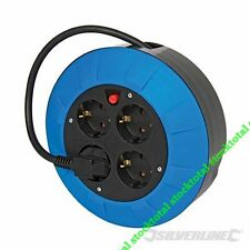 Alargador eléctrico Schuko tipo F (Europa) Alargador eléctrico 4 toma 727011 ç66