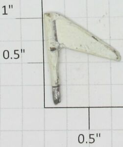 American Flyer 363-WX Standard Gauge White Metal Flag