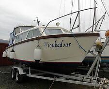 Motor Boat-Cabin Cruiser