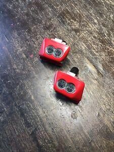 Cadillac Allante Headlamp Washer Nozzle Pair Red