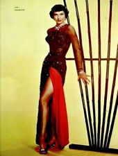Cyd Charisse 1953 Vintage Pinup Litho Virgil Apger Photo Publicity Promo COA