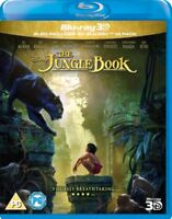 The Jungle Book (Live Acción) 3D+2D Blu-Ray Nuevo Blu-Ray (BUY0265601)