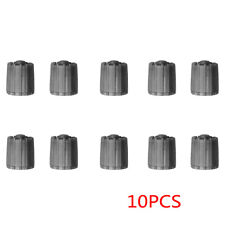 10pcs/bag Gray Tire Valve Stem Caps TPMS Tire Cap with Gasket Car Accessories
