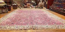 Masterpiece Antique 1920-1930s Wool Pile,Legendary Hereke Rug 8x12ft