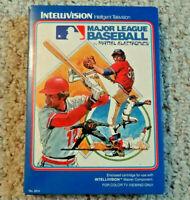 INTELLIVISION MLB BASEBALL BOXED