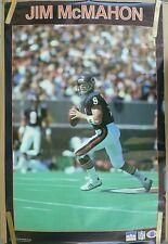 RARE JIM MCMAHON BEARS 1987 VINTAGE ORIGINAL NFL STARLINE POSTER