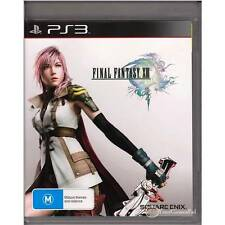 PLAYSTATION 3 FINAL FANTASY 13 XIII  DUAL SHOCK 3  FF13 PS3  [ULN] GAMES PAL