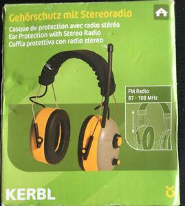 Peltor Kapsel-Gehörschutz Lärmschutz Gehörschutzbügel mit FM Stereoradio Radio