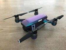 GLOSS LAVENDER / TURQUOISE COLOUR CHANGE WATERPROOF DJI SPARK VINYL SKIN / DECAL