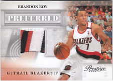 Brandon Roy 2009 10 Prestige Preferred 3 Color Patch 8/10