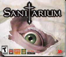 SANITARIUM PC Game CD-ROM Adventure NEW  Sealed