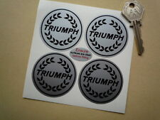 TRIUMPH Garland Wheel Centre Style STICKERS 50mm Dolomite Spitfire TR6 2.5pi GT6